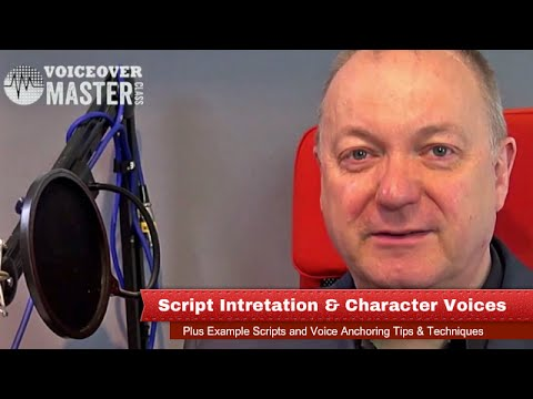 Script Interpretation and Character Voices - Including Script Examples to  Practice