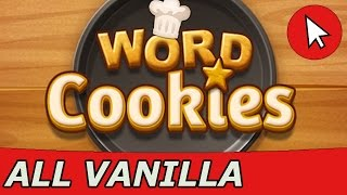 Word Cookies Vanilla Answers (1-20) + Special Level