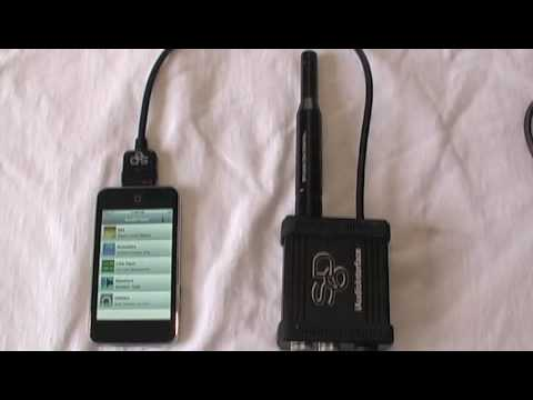 THD+n on iPhone