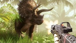 Shooting Dinosaurs in a Fan Made Jurassic Park Game! - Jurassic Planet