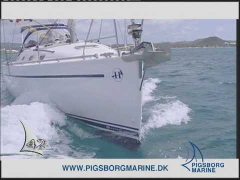 Harmony Yachts sejlbåd, boat dealer Pigsborg Marine Kolding
