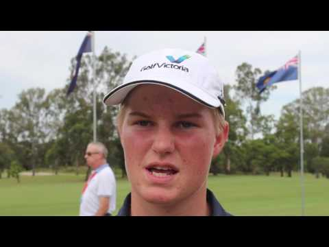 2016 Interstate Series - Wednesday action and Cameron John (VIC) interview