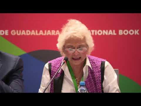 Olga Sánchez Cordero habló en la FIL sobre la cuarta transformación