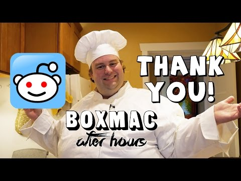 BoxMac After Hours 1: Thank You for 55,000 Views!