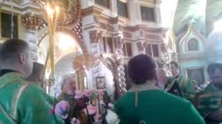 Sfintirea Bisericii sf.Gheorghe din st.Gura Galbenei 12.10.14