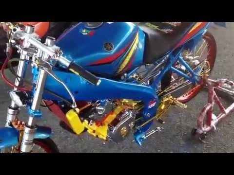 Yamaha Vixion Modif Blacklist Auto Contest Youtube