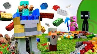 Видео обзор   Крутые доспехи для Стива из Майнкрафт Лего