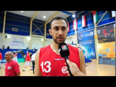 Bassel Bawji Post Game Interview Lebanon vs Palestine