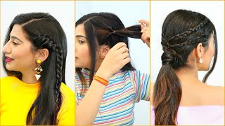 3 Super CUTE & QUICK Everyday Hairstyles for TEENAGERS | Anaysa