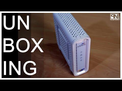 Arris SB8200 Docsis 3.1 Cable Modem - Unboxing - Poc Network