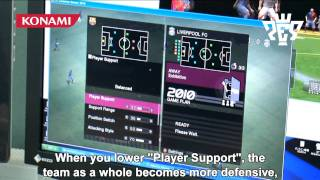 Pro Evolution Soccer 2010 - Konami Studios - Behind the Scenes Video HD