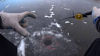 Зимняя рыбалка 2020 2021 В первый раз на Первый лед