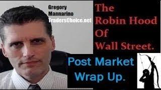 Post Market: Money Printing, New War(s), Shills, And #FAKE Narratives. By Gregory Mannarino