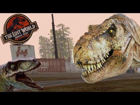 T-Rex Territory On The InGen Harbor - Jurassic Park: Trespasser - Part 8