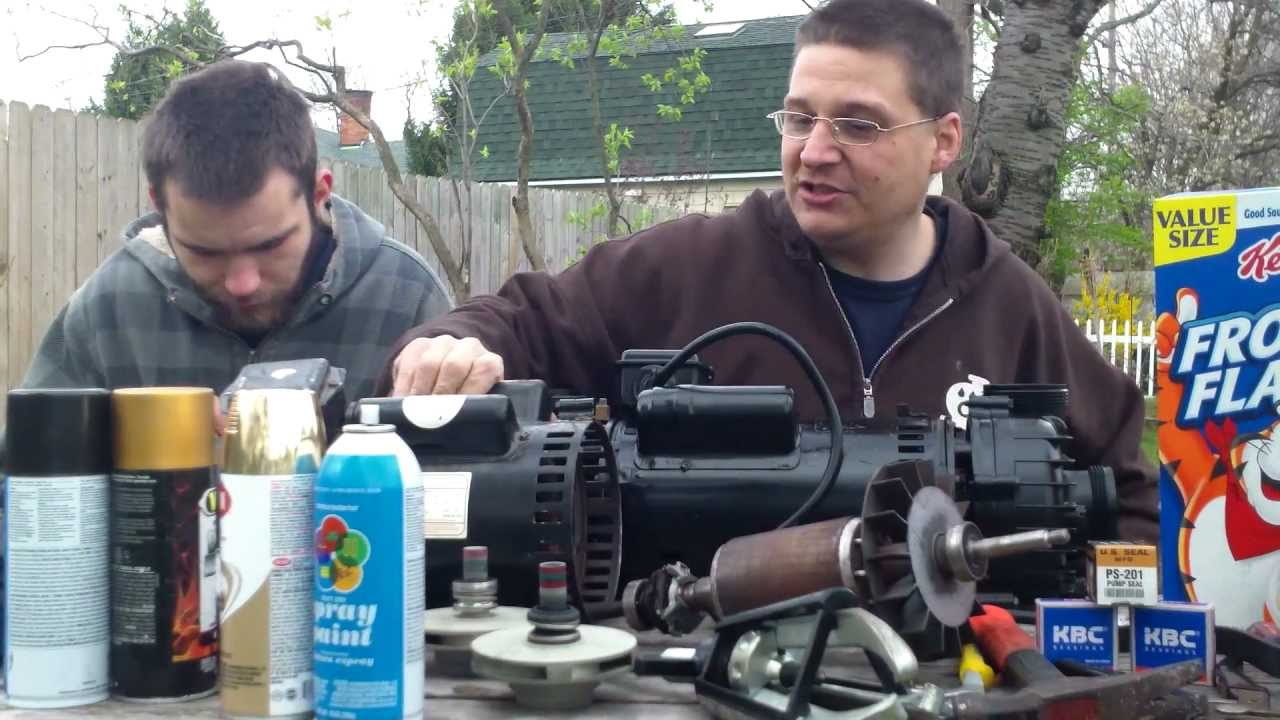 Cal spas dually pump pum22000919 repair kit available for Cal spa dually pump motor