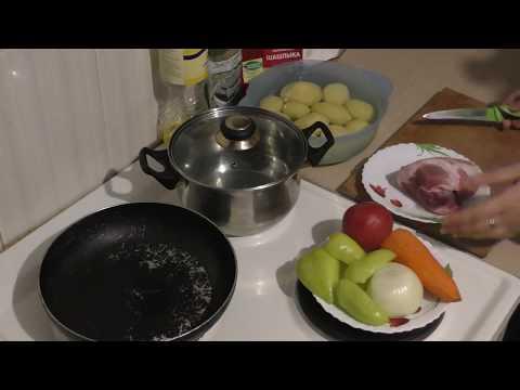 Как приготовить говядину тушеную с картошкой