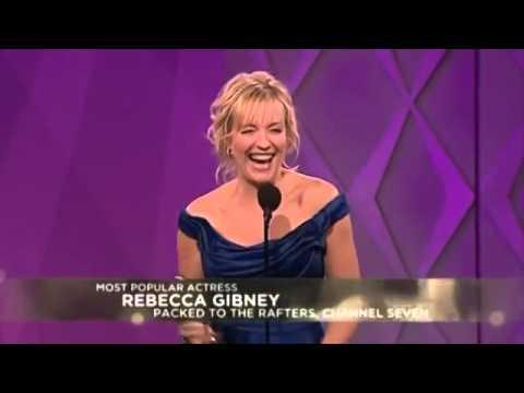Logies 2010   Rebecca Gibney wins Most Popular Actress