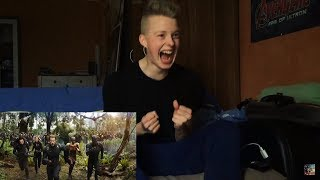 "AVENGERS: INFINITY WAR - OFFICIAL TRAILER ""REACTION"" Deutsch German (2018) MCU 