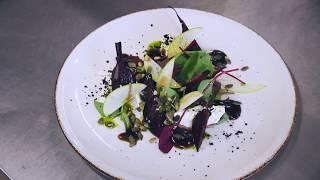 Национальная мордовская кухня: салат из свеклы и домашнего сыра