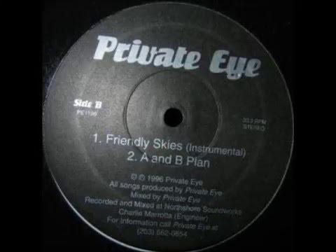 Private Eye - Friendly Skies (Instrumental)