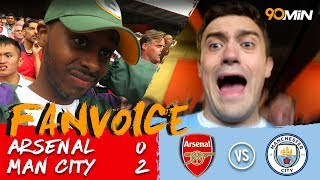 Arsenal 0-2 Man City | Sterling and Silva goals means Man City breeze past Arsenal in 2-0 win