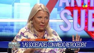 """Elisa Carrió en """"Animales sueltos"""", de A.Fantino (completo HD) - 02/03/17"""