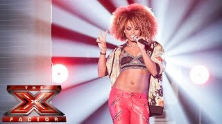 fleur east sings all about that bass live week 1 the x factor uk 2014