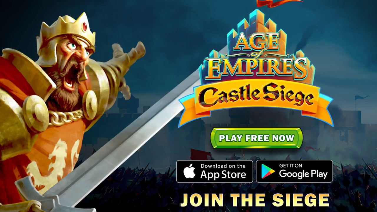 Age of Empires®: Castle Siege - iOS/Android Trailer