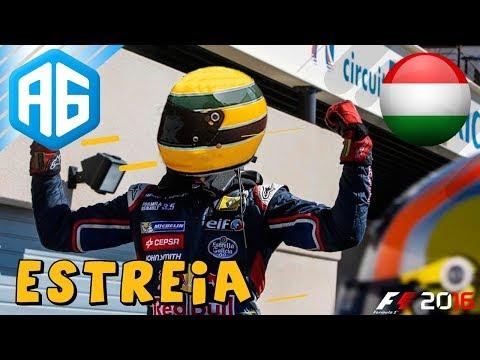 F1 2016 #127 CARREIRA - GP DA HUNGRIA - ESTREIA NA TORO ROSSO (Português-BR)