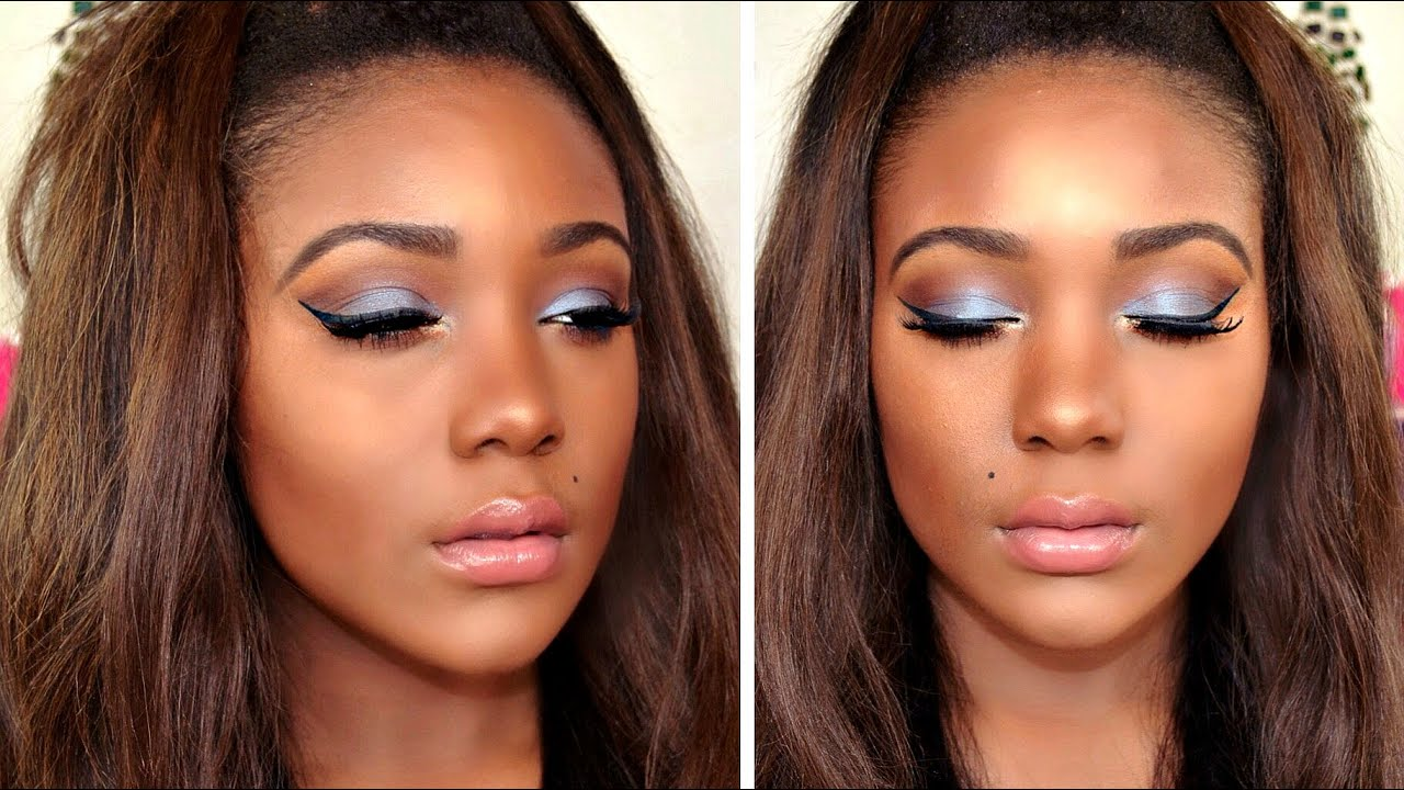 Makeup tutorial for dark skin beginners download