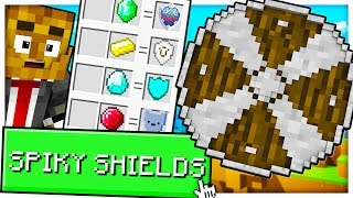 HOW TO CRAFT AN OP SPIKY SHIELD - MINECRAFT MONEYWARS REMASTERED