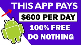 (2021) This App Pays You $600/Day (FREE) You Do NOTHING - Make Money Online   Branson Tay