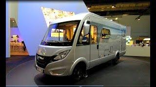 Hymer B 580 Hymermobil B MC I 580 Camper all new model walkaround and interior Sprinter 314 CDI K59