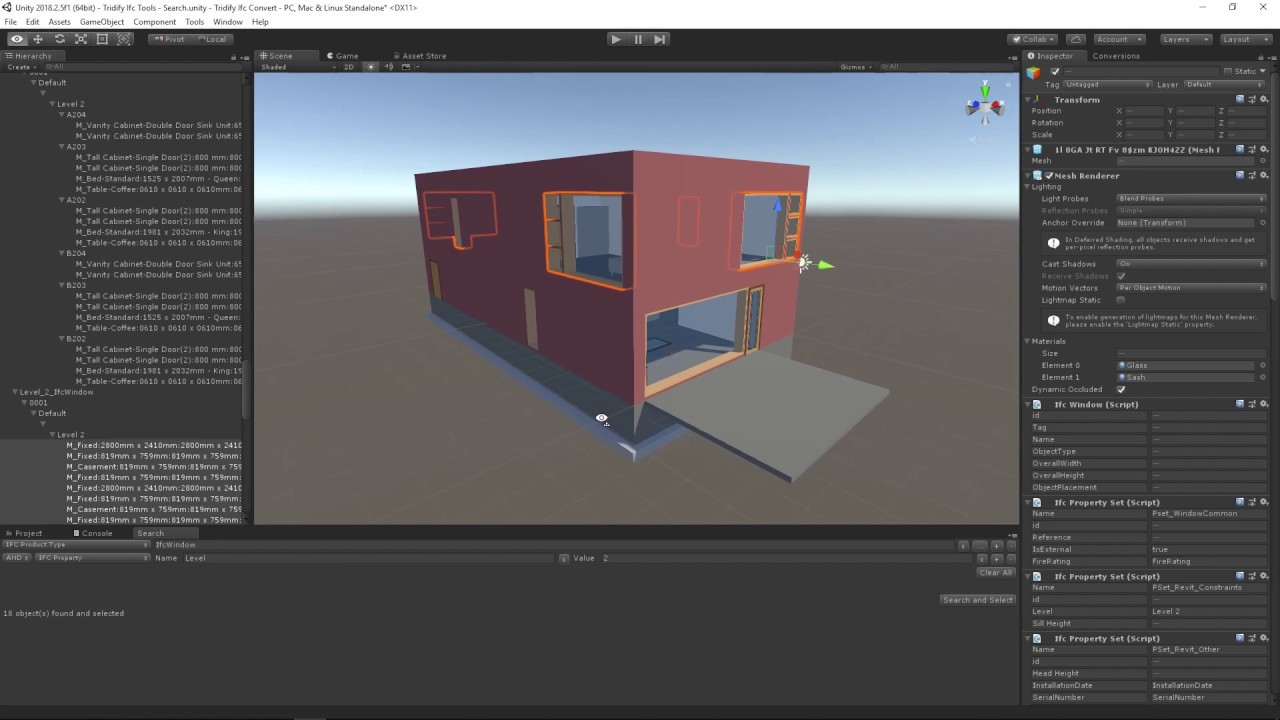 Tridify BIM Tools - Get your 3D BIM models and data to Unity