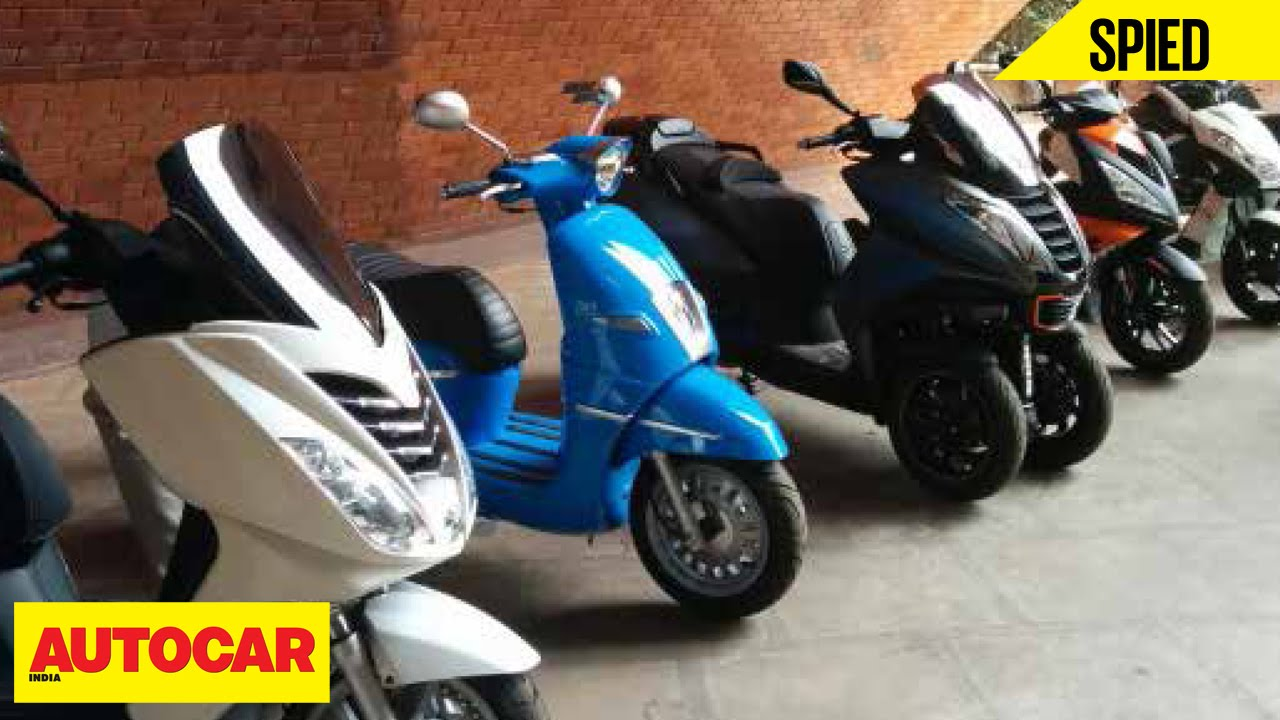 Spied | Mahindra Two Wheelers | Peugeot Scooters | Autocar India ...