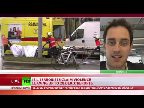 Brussels metro bombing witness: 'Country is in shock'