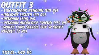 Roblox Good Outfits For Christmas Cloak Roblox Christmas Outfit Ideas Youtube