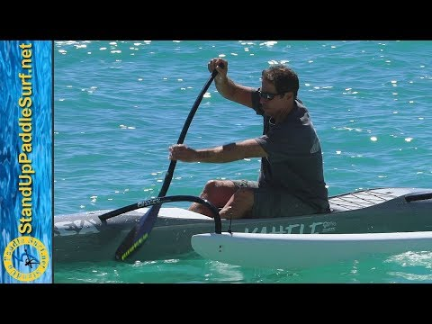 John Puakea Teaches Canoe Paddling Technique: The Catch - Part 2