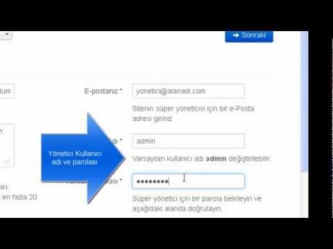 Joomla! 3.0.1 Kurulumu + Türkçe Yapılması