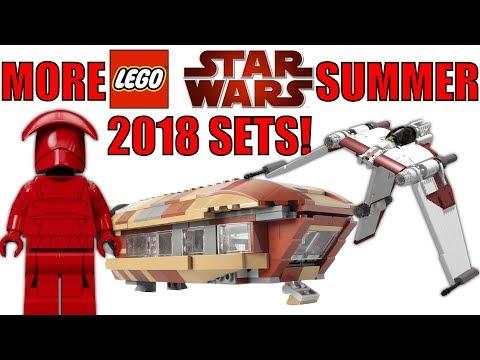 MORE LEGO Star Wars Summer 2018 Set Rumors! | 75216 Snoke's Throne Room, 75217 V-19 Torrent, & 75215