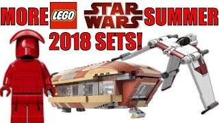 MORE LEGO Star Wars Summer 2018 Set Rumors! | 75216 Snoke