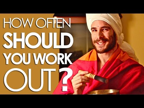 How often should you work out the power of consistency youtube