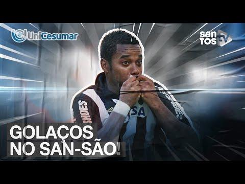 QUAL O GOL MAIS BONITO DO SAN-SÃO? TOP UNICESUMAR 08