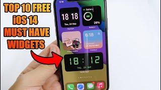 Top 10 FREE - iOS 14 Third Party Home Screen Widgets screenshot 5