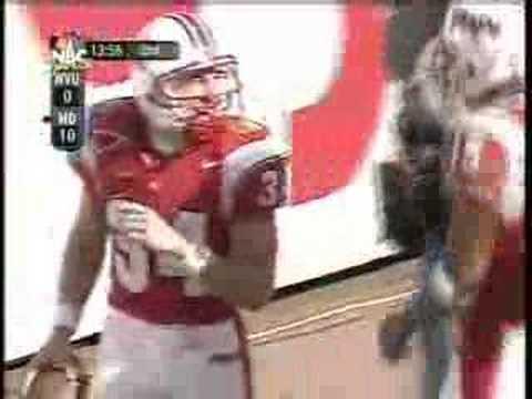 Steve Suter TD Punt Return in Gator Bowl