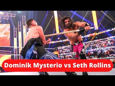 Dominik Mysterio vs Seth Rollins – Summerslam 2020 (Review) | D Prime 215