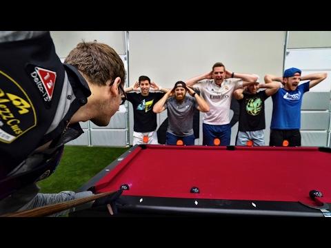 Pool Trick Shots 2 |  Dude Perfect