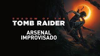 Shadow of the Tomb Raider – Mulher Domina a Selva – Arsenal Improvisado