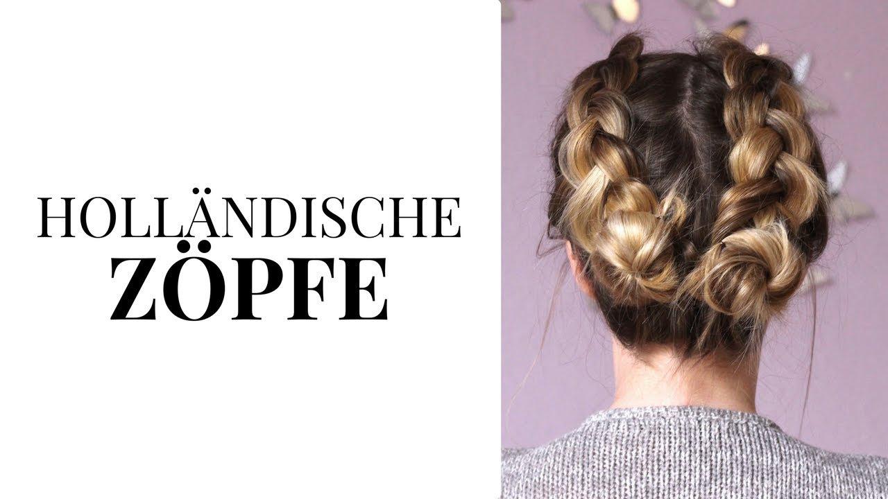 Holländische Zöpfe Und Space Buns Flechtfrisuren Für Kurze Haare