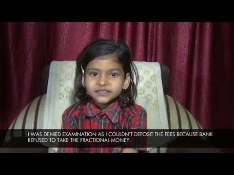 This student of St Joseph School was denied to sit for her examination